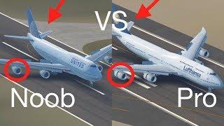 Noob Pilot VS Pro Pilot 2