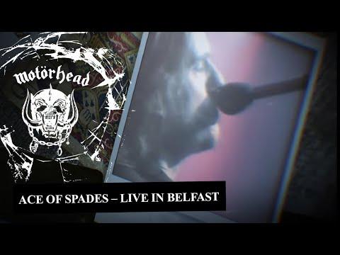 Motorhead - Ace Of Spades (Live in Belfast, 1981)