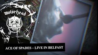 Motörhead – Ace Of Spades (Live in Belfast, 1981)