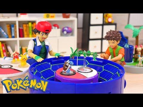 Pokemon Battle Stadium Toy    Stop Motion