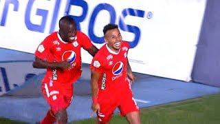 América vs. Nacional (2-1) | Liga Aguila 2019-II | Fecha 18