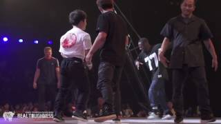 Team KOREA vs Team HOLLAND Bboy Semi G-SHOCK REAL TOUGHNESS 2016 | YAK BATTLES