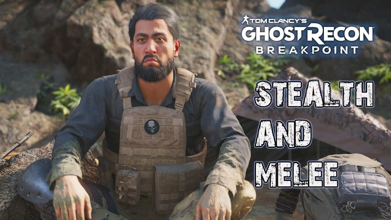 STEALTH AND MELEE KILLS   TOM CLANCY'S GHOST RECON ...