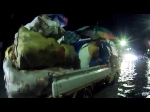 Walking Flooded Streets of Cebu City, Cebu, Philippines