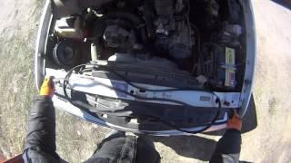 Замена ремня агрегатов Ford Explorer САМОСТОЯТЕЛЬНО