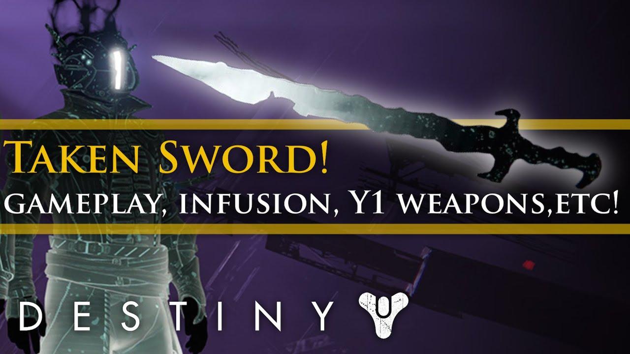 destiny how to get taken sword