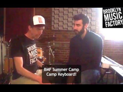 Brooklyn Music Factory Specialty Camps - Camp Keyboard!