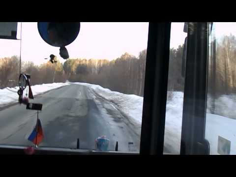 Автобус № 85 в Тюмени: эксперимент НАШЕЙ - 27 марта 2015 года