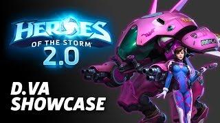 Heroes Of The Storm - D.Va Showcase