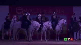 Cavalli a Roma - Gran Gala di chiusura - Intera Cerimonia - www.HTO.tv