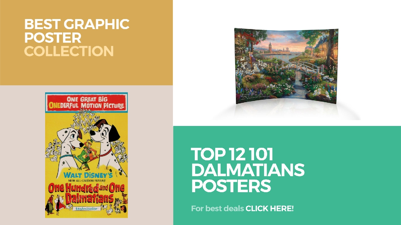 Graphic design poster 101 - Top 12 101 Dalmatians Posters Best Graphic Poster Collection