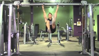Hanging Bicycles - HASfit Abdominal Exercises - Ab Exercises - Abs Exercise