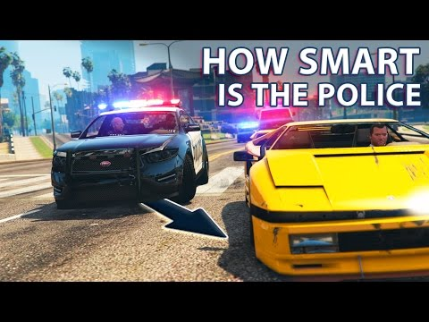 Thumbnail: GTA V - How smart is the Police?
