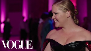 Amy Schumer on Getting Donuts After the Met Gala | Met Gala 2017