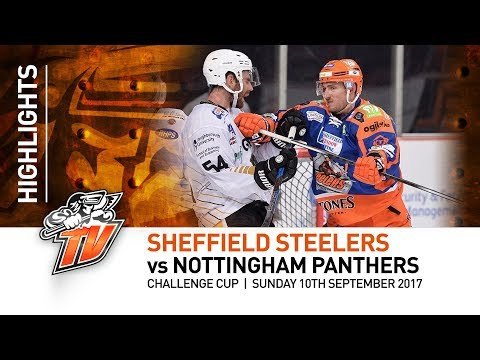 Sheffield Steelers v Nottingham Panthers - Challenge Cup - 10th September 2017