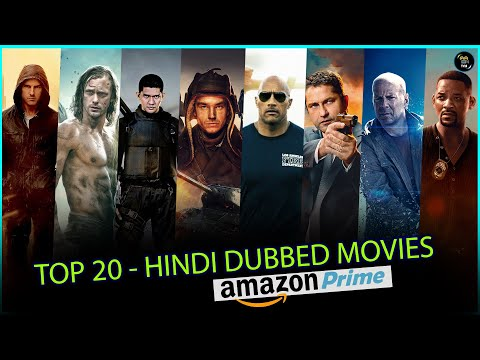 Top 20 Hindi Dubbed Hollywood Movies On Amazon Prime (Part 1) | The Choice Box