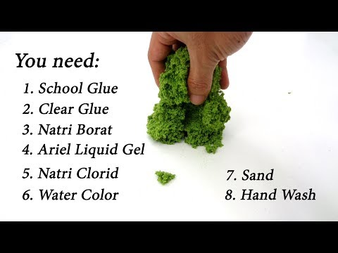 Top 3 Recipes for DIY Kinetic Sand and Moon Sand Homemade