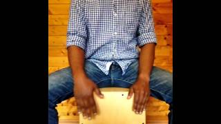 Cajon Lessons 1- Slow Rock Cajon Beat