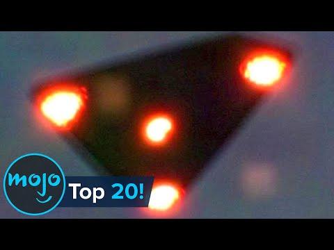Top 20 UFO Sightings Caught on Camera!