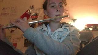 Flute cover: Breathe me by Sia