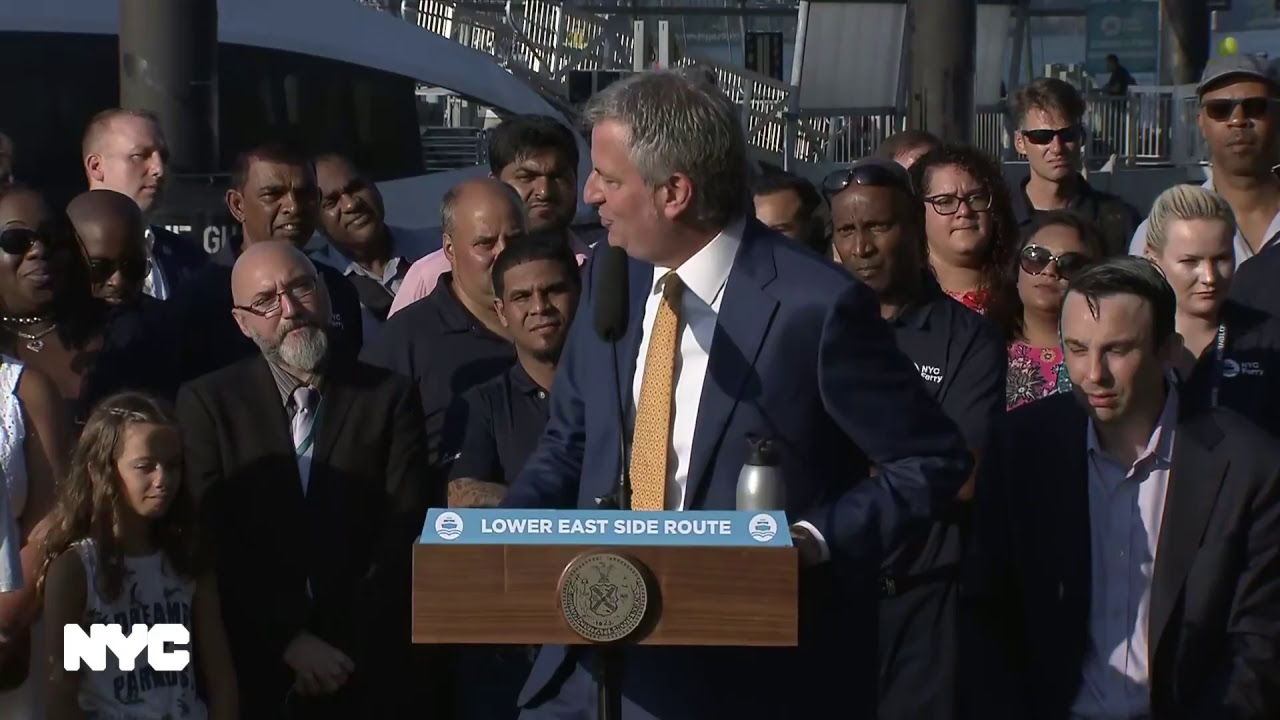 Mayor Bill de Blasio Delivers Remarks for Launch of the New