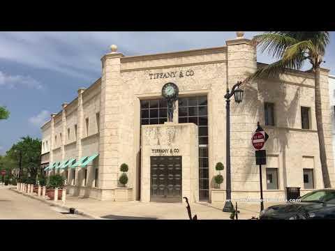 Worth Avenue, Palm Beach, Florida, Floryda