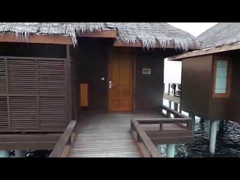 Water bungalow in sheraton, maldives-HD