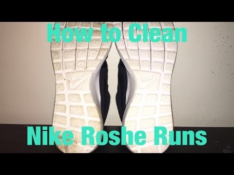 HOW TO CLEAN YOUR ROSHES!
