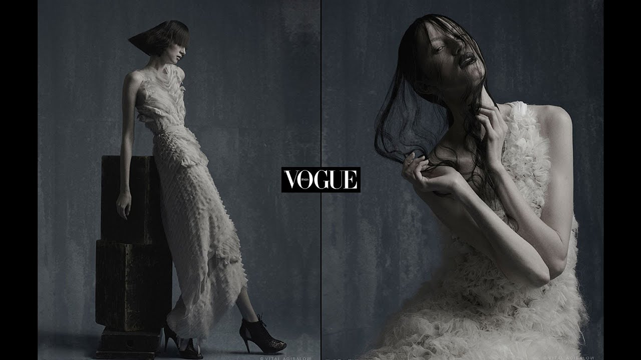 VOGUE Italia - fashion editorial Photographed by VITAL AGIBALOW for HENSEL in New York