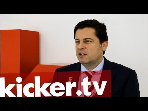 Christian Seifert - DFL Chef zu Besuch beim kicker - kicker.tv