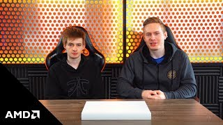 Broxah and Nemesis unbox HP's Pavilion Gaming 15 notebook powered by AMD Ryzen™ Mobile