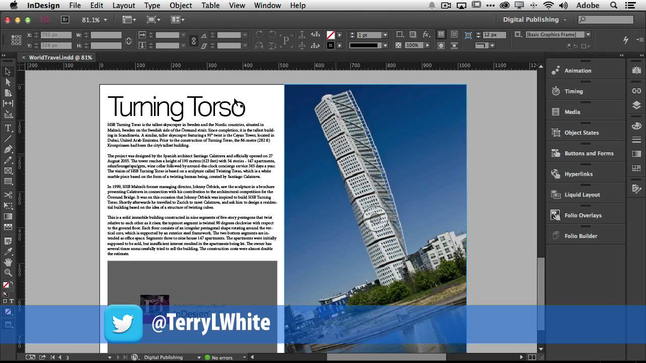 how to create a fixed layout ebook with adobe indesign cc youtube