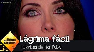 Pilar Rubio llora como una auténtica actriz de Hollywood - El Hormiguero 3.0