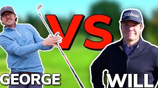 CLUTCH FINISH For The Win! Pro vs Pro. George vs Will | Bryan Bros Golf
