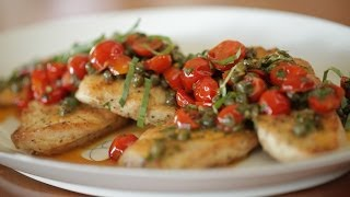 Liesl's Lemon Caper Chicken
