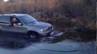 BMW X5 off road