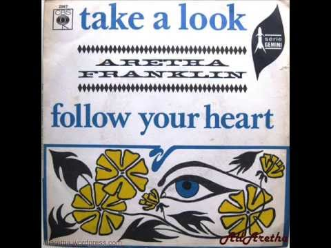 Aretha Franklin - Take A Look / Follow Your Heart - 7″ France - 1967