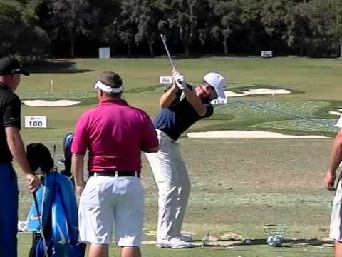 Scott Jamieson Golf Swing, Slow Motion, Valderrama, Spanish Open 2016