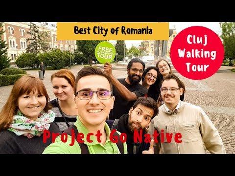 Cluj FREE Walking Tour || Indian Travel Vlogger