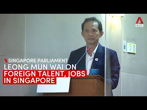 """Singapore-India CECA is not """"a race issue"""": PSP's Leong Mun Wai on foreign talent, jobs in Singapore"""