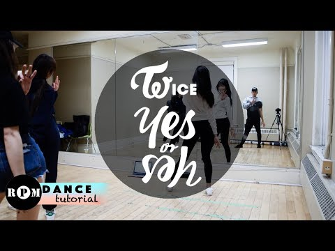 TWICE YES or YES Dance Tutorial (Pre-Chorus, Chorus)