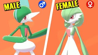 Pokémon Sword & Shield - All Gender Differences