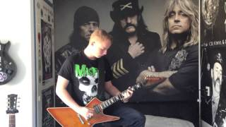 Motörhead - Queen of the damned (guitar cover) [HQ]