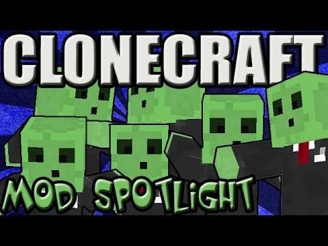 CLONECRAFT  Minecraft Mod Spotlight