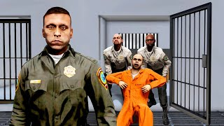 GTA 5 - PLAYING as the OWNER of the PRISON!