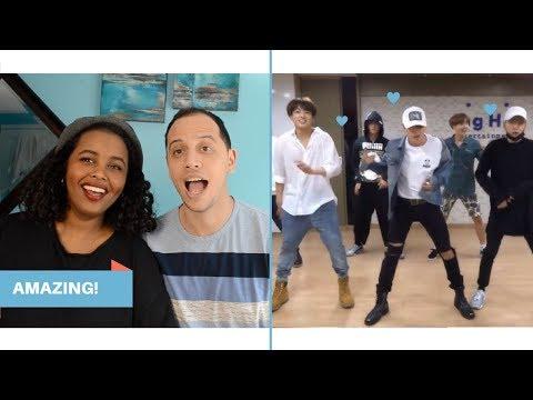 BTS SILVER SPOON (BAEPSAE) DANCE PRACTICE REACTION (BTS REACTION)