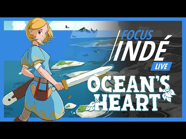 OCEAN'S HEART - Exploration et crafting dans ce zelda-like   Focus Indé Live