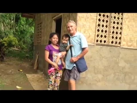 LAST DAY OF WORK MOTHER AND CHILD HOUSE REPAIR PROJECT AN EXPAT FOREIGNER PHILIPPINES