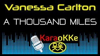 Vanessa Carlton - A Thousand Miles (Karaoke, Lyrics)