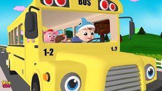 Wheels on the Bus - Baby songs | Nursery Rhymes & Kids Songs